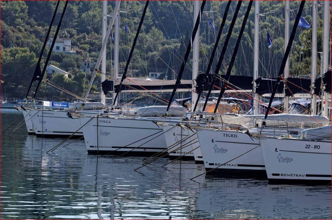 Die gepflegten Charteryachten  von Sailing Europe in Rogac