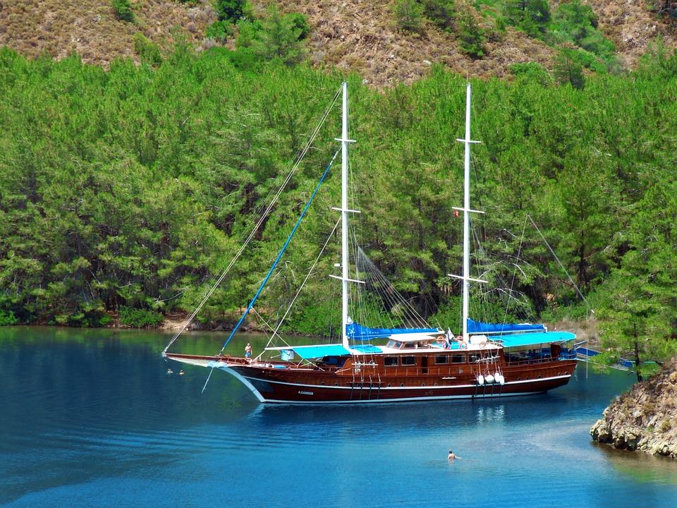 Törnvorschlag für einen Segeltörn von Marmaris nach Göcek und zurück – Zwischen Hamam und Antike