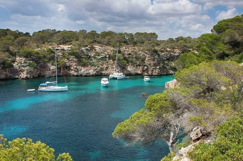 Törnvorschlag Rund Mallorca ab Porto Colom