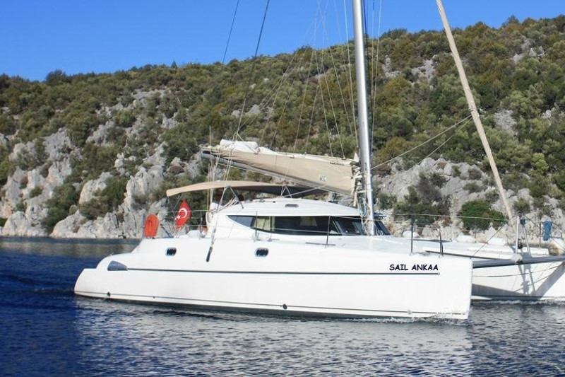 Athena 38 Sail Ankaa