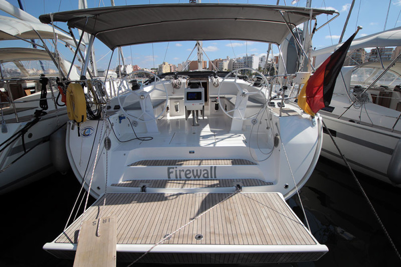 Bavaria Cruiser 51 Firewall