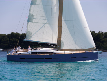 Dufour 460 Grand Large Ceto (aircondition, generator, blue hull)