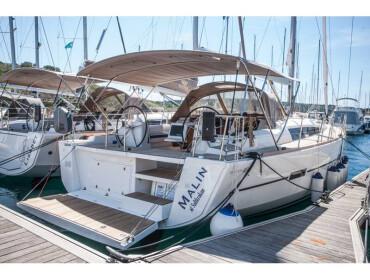 Dufour 460 Grand Large MALIN OV 2018+AC+G
