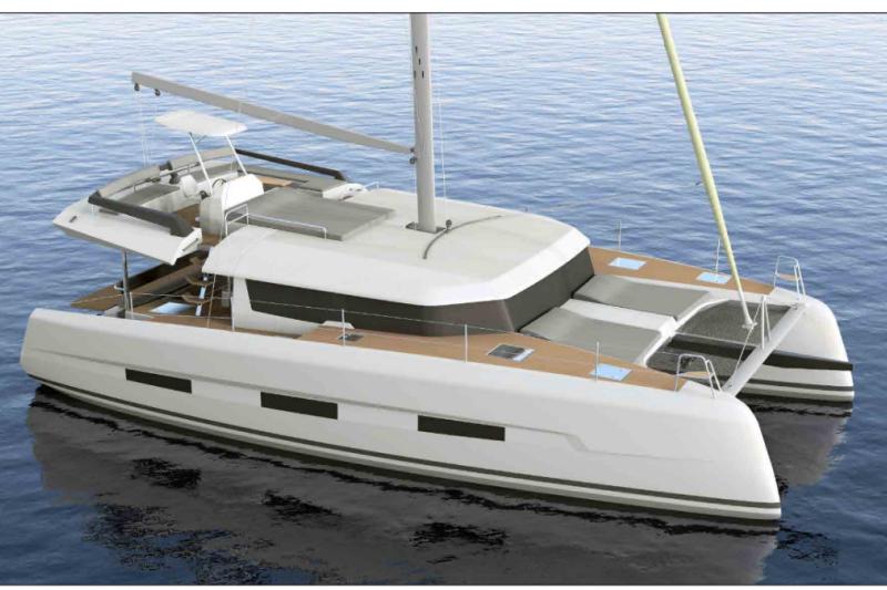 Dufour 48 Catamaran Blue Horizon
