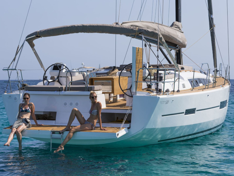 Dufour 520 Grand Large Mar de Ardora