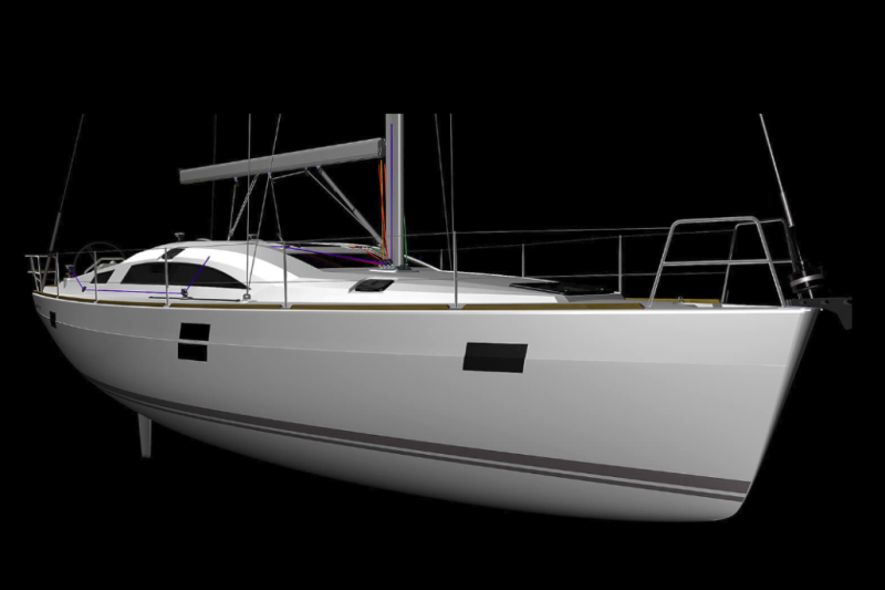 Elan Impression 45.1 NN (LCD TV, AC, heating, bowthruster)