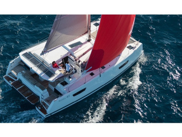 Fountaine Pajot Astréa 42 Sissy- A/C & Watermaker & Generator & Electrical Platform - 4+2 Cabins