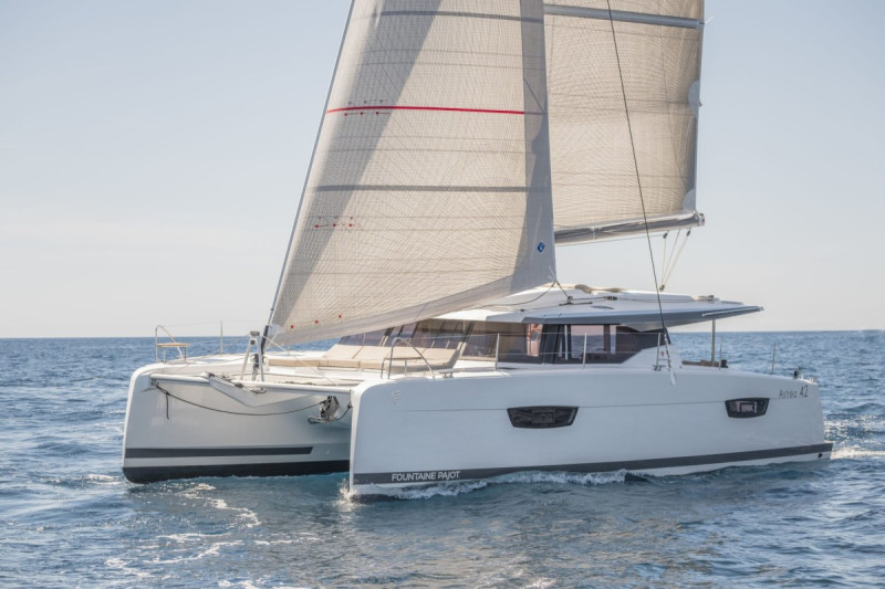 Fountaine Pajot Astrea 42 OUT OF OFFICE (ex. V7385)