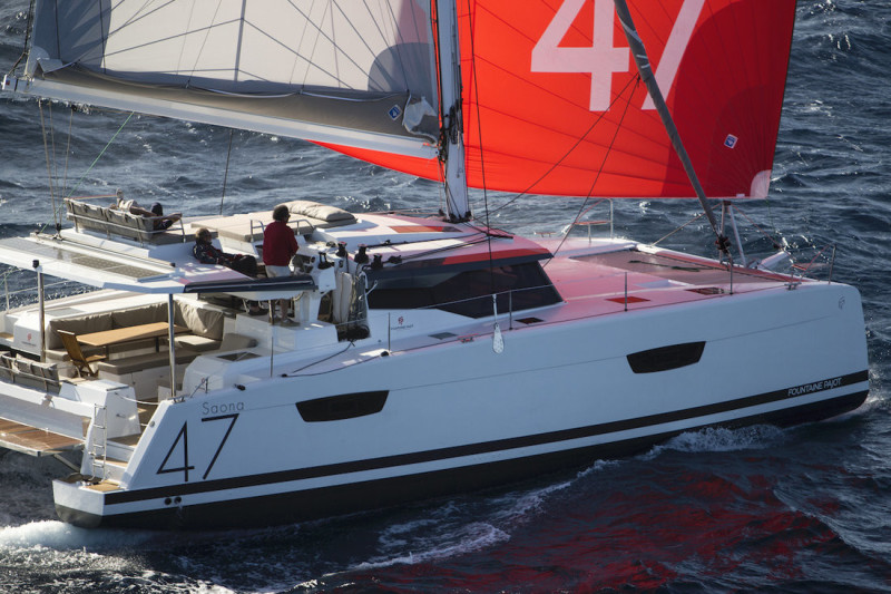 Fountaine Pajot Saona 47 (Quintet) No Shoes (#125)