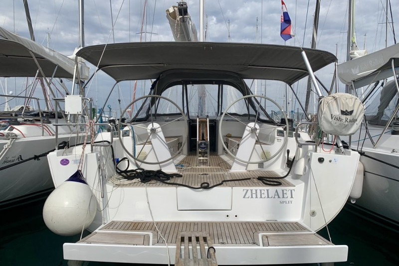 Hanse 445 Zhelaet - renewed 2017