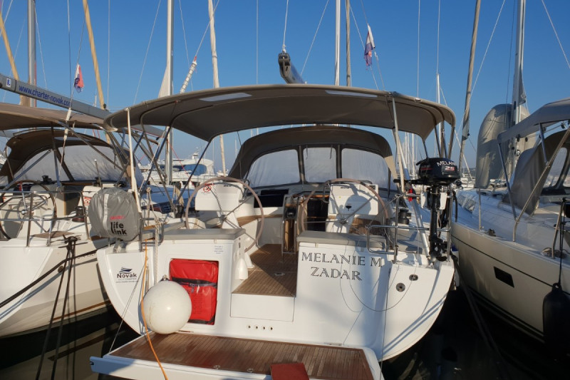 Hanse 455 MELANIE M, A/C - shore power only