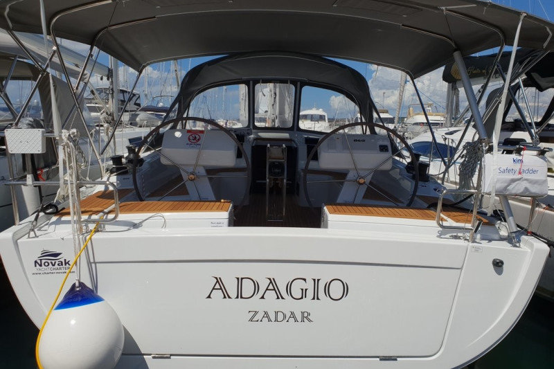 Hanse 458 Adagio, A/C - shore power only