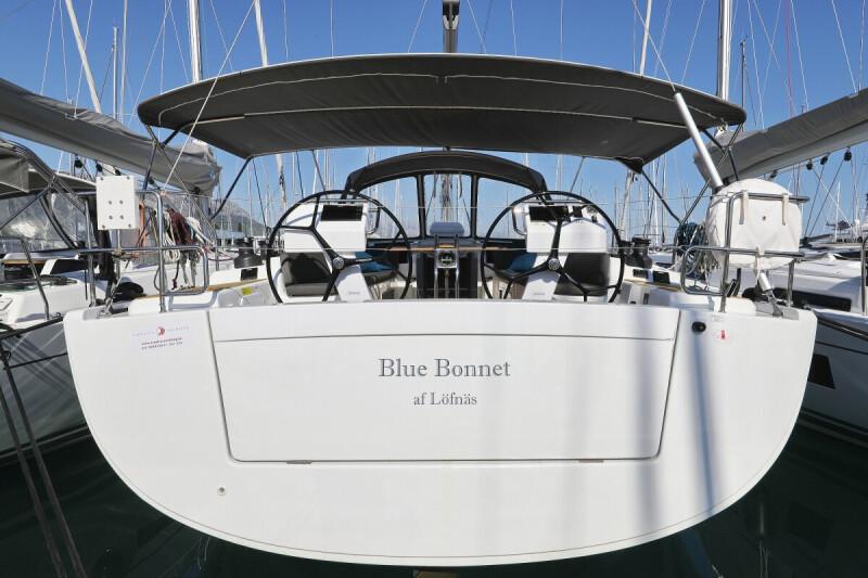 Hanse 505 Blue Bonnet af Lovnas - Owner's