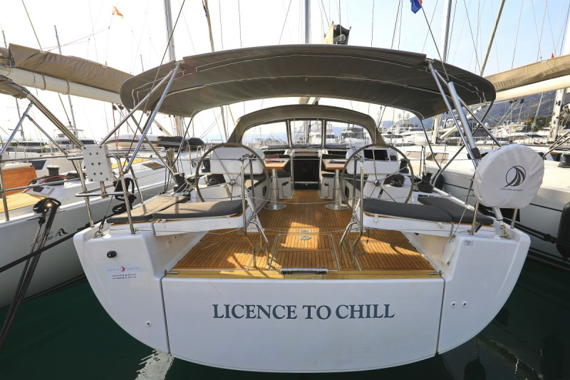 Hanse 508 License to Chill
