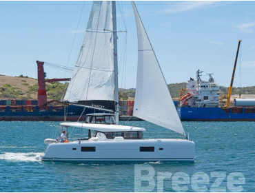 Lagoon 42. BREEZE