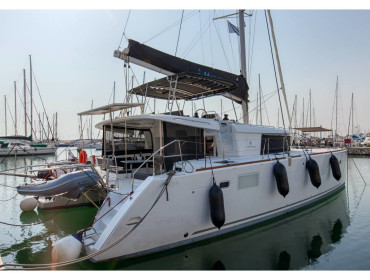 Lagoon 450  Flybridge Smile