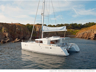 Lagoon 450 Flybridge WindGuru