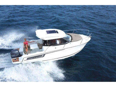 Merry Fisher 695 DiV - solar panel/bow thruster
