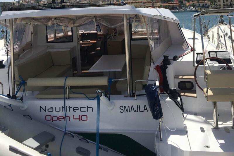 Nautitech 40 Open Smajla