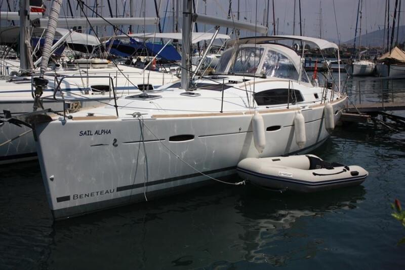 Oceanis 40 Sail Alpha
