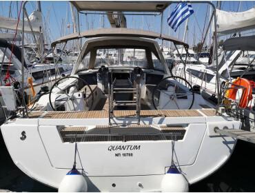 Oceanis 45 Quantum - Bow & Solar