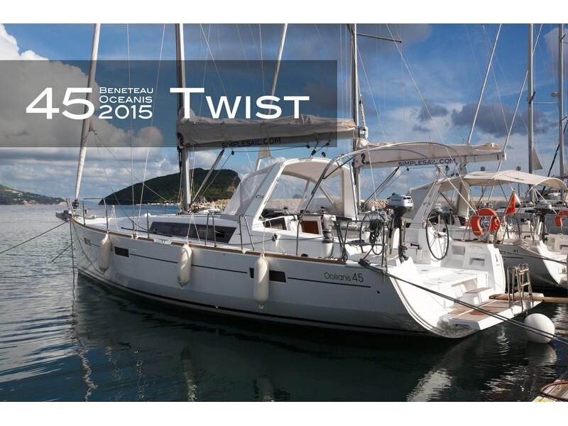 Oceanis 45  Twist