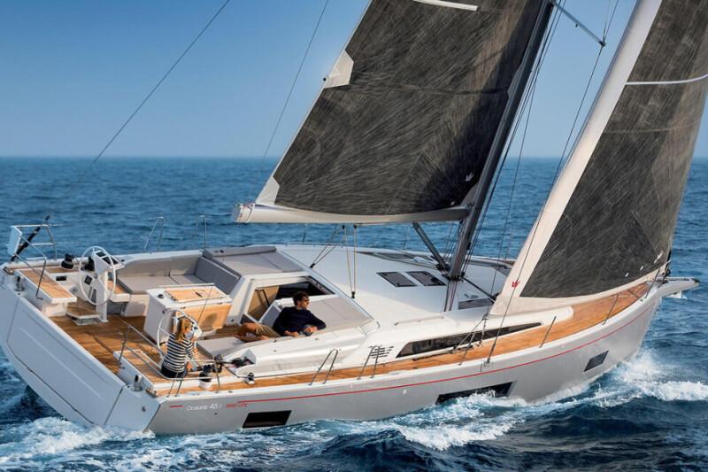 Oceanis 46.1 LADYBUG