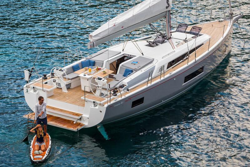 Oceanis 46.1 Sail Delta