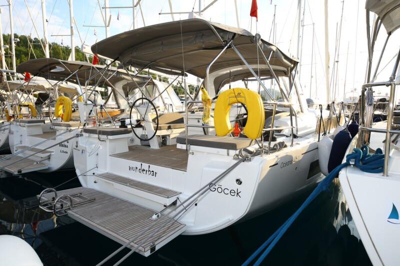 Oceanis 46.1 wunderbar