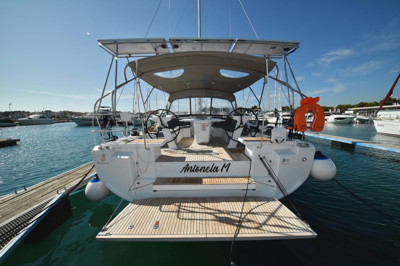 "Oceanis 46.1 ""Antonela M"" with A/C and generator (2019)"