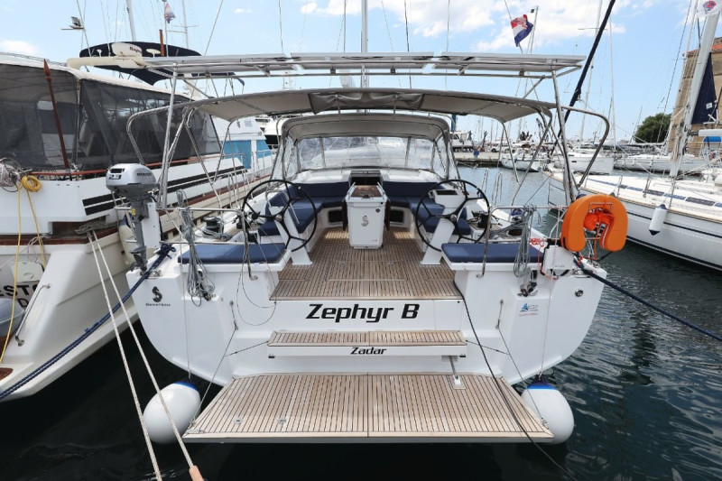 "Oceanis 51.1 ""Zephyr B"" with A/C and generator"