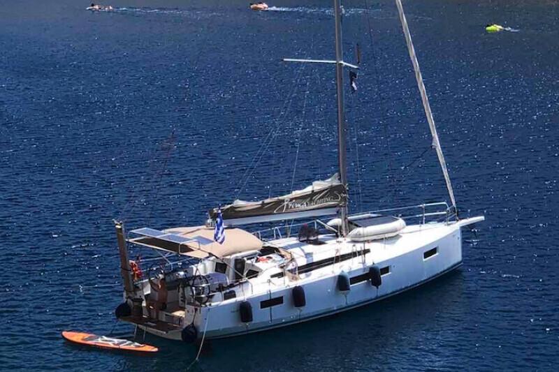 Sun Odyssey 410 Aquaholic