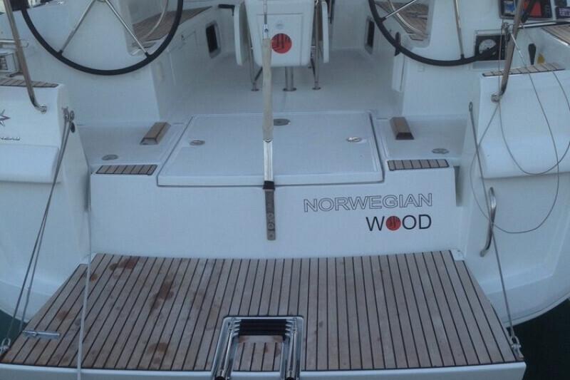Sun Odyssey 479 Norwegian wood