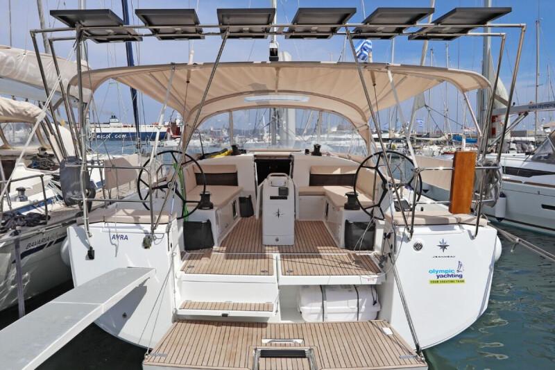 Sun Odyssey 490 Avra