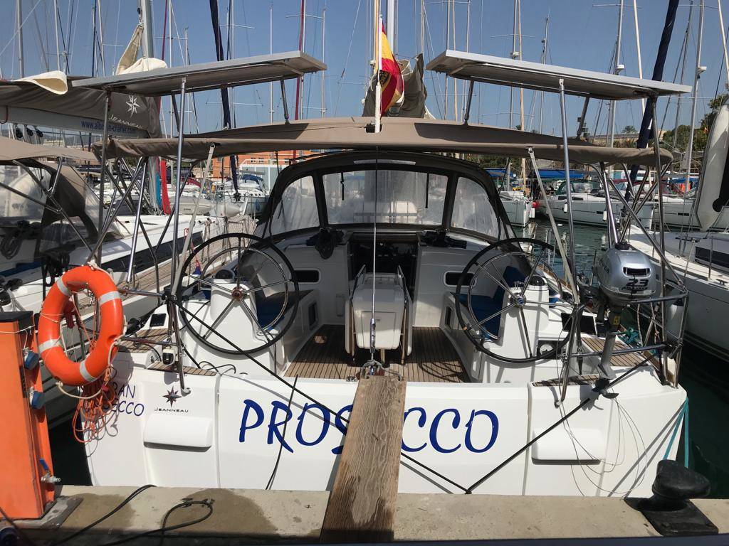 Sun Odyssey 519 Alboran Prosecco (Majorca)